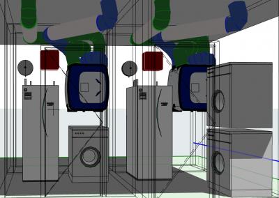 Opstelingen Technische ruimte 1